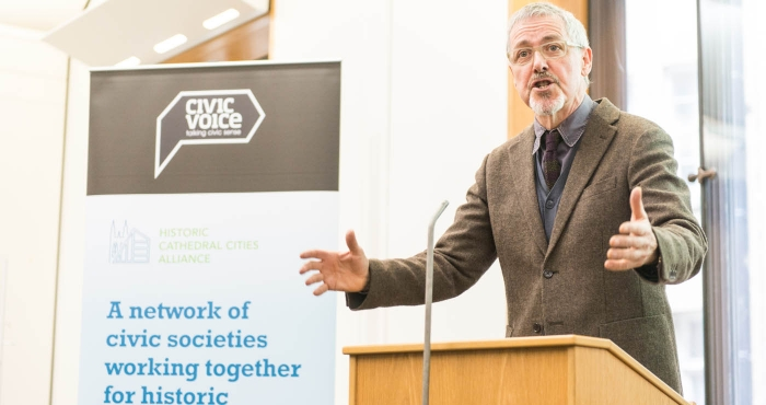Griff Rhys Jones, Civic Voice president